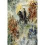 Arte Abstrata Dom Quixote Pintor Chagall Tela Repro