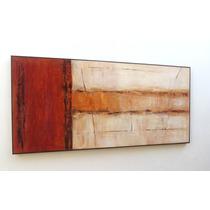 Quadros Abstratos Para Sala, Quarto, Escritório, 140cmx70cm