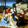 Lamentação Jesus Cristo Virgem Maria Pintor David Tela Rep