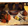 O Alimento Banana Frutas Taiti 1891 Pintor Gauguin Tela Repr