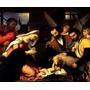 Adoração Dos Pastores Menino Jesus Pintor Lotto Tela Repro