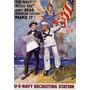 Marinha Seleção Para Recrutamento Homens Poster Repro