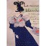 Senhora Vestido Cachecol Chapéu Poster Repro