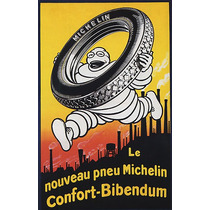 Pneu Michelin Boneco Poster Repro
