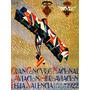 Grande Concurso Nacional De Aviação Valencia Poster Repro