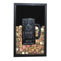 Quadro Para Rolha Tampinha Decoração Vinho Cerveja Bar Casa