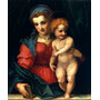 Virgem Maria Jesus Cristo Criança Pintor Del Sarto Na Tela