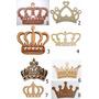 Coroa Mdf Cru Provençal Decoração Festa Vários Modelos 60 Cm