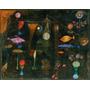 Peixes Magicos Pintura Abstratra De Paul Klee Tela Repro