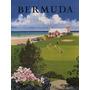 Bermuda Jardim Flores Golfe Casa Mar Poster Repro
