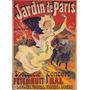 Jardim De Paris Mulher Concerto Dança Poster Repro