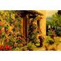 Casa Região Toscana Itália Pintor Breckenridge Repro Tela