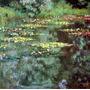 Lago Flores Paisagem França 1904 Pintor Monet Tela Repro