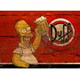 Quadro Rústico Cervejas Decoração Vintage Retro Antigo