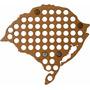 Mapa Rio Grande Do Sul Para Coleção De Tampinhas De Garrafa