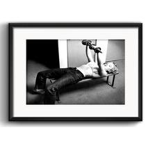 Quadro Marilyn Monroe Malhando Retro Arte Decoracao Paspatur