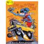 Placa Rat Fink Hot Rods Quadro De Decoração Vintage Garagem