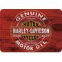 4 Quadros Placa Adesivado Harley Davidson Retro 40cm