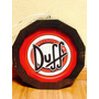 Tampa Barril Back Light - Cerveja Duff - 30x30 - 110v