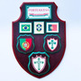 Brasão Escudo Portuguesa Decoração 35cm Altura Mdf