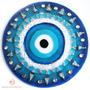 Mandala Olho Grego De Vidro M 14cm