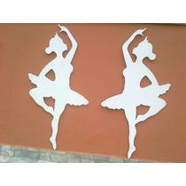 Bailarina(dupla) Mdf 6mm, 1 Metro Artesanal