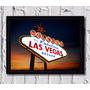 Poster Com Moldura Las Vegas