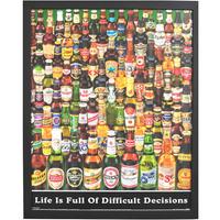 Quadro Decorativo De Cervejas Gravura Importada