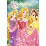 Quadro Decoração Disney Princesas - 30x44 Cm
