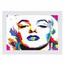 Quadro Marilyn Monroe (55x85cm) Moldura Branca