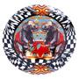 Prato De Parede Elefante Em Cerâmica