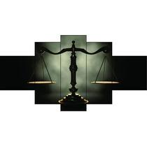 Quadro Decorativo Direito Escritorio De Advocacia Balança