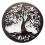 Mandala Ferro Figura Arvore Da Vida - Mav57