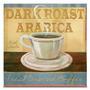 Quadro Em Canvas Dark Roast Arabica