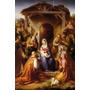 Quadro Natividade Virgem Maria Jesus Magos Rohden