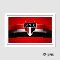 Quadro Decorativo - Futebol Times Brasileiros - São Paulo Fc