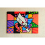 Quadro Decorativo Romero Britto Gato 1,00 X ,70m