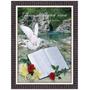 Quadro Biblico 60x80 - Moldura - Rios De Agua Viva - Efesios