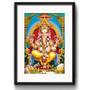 Quadro Ganesha India Hindu Arte Decoracao Vidro Paspatur