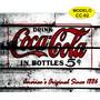 Placas Decorativas Retro Vintage Coca Cola Em Chapa De Ferro