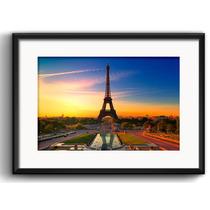 Quadro Paris Arte Decoracao Retro Eiffel Vidro Paspatur