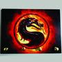 Porta Chave Placa Decorativa Mortal Kombat Games Scorpion X