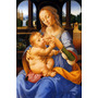 A Virgem Maria Amamentando Jesus Pintor Di Credi Tela Repro