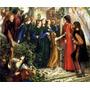 Beatriz Dante Festa Casamento Pintor Rossetti Tela Repro