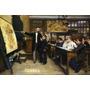 Aula De Geografia Alunos França Pintor Bettannier Tela Repro
