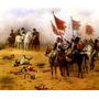 Gloriosa Tropa Inglaterra Cavalos Pintor Chaperon Tela Repro