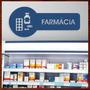 Quadro Escultura Em Mdf Vazada Para Decoração De Farmácia