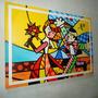 Romero Brito Releitura Tam 90 X1.20 O Abraço Luis Frade