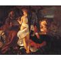 Anjo Tocando Violino Menino Jesus Caravaggio Na Tela Repro