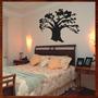 Quadro Decorat. Escultura De Parede Mdf Árvore Prosperidade